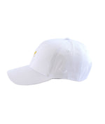 One Inch Blades White & Amber Dad Cap