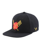 Dragon Blades Ornament Black/Gold/Red Snapback Cap