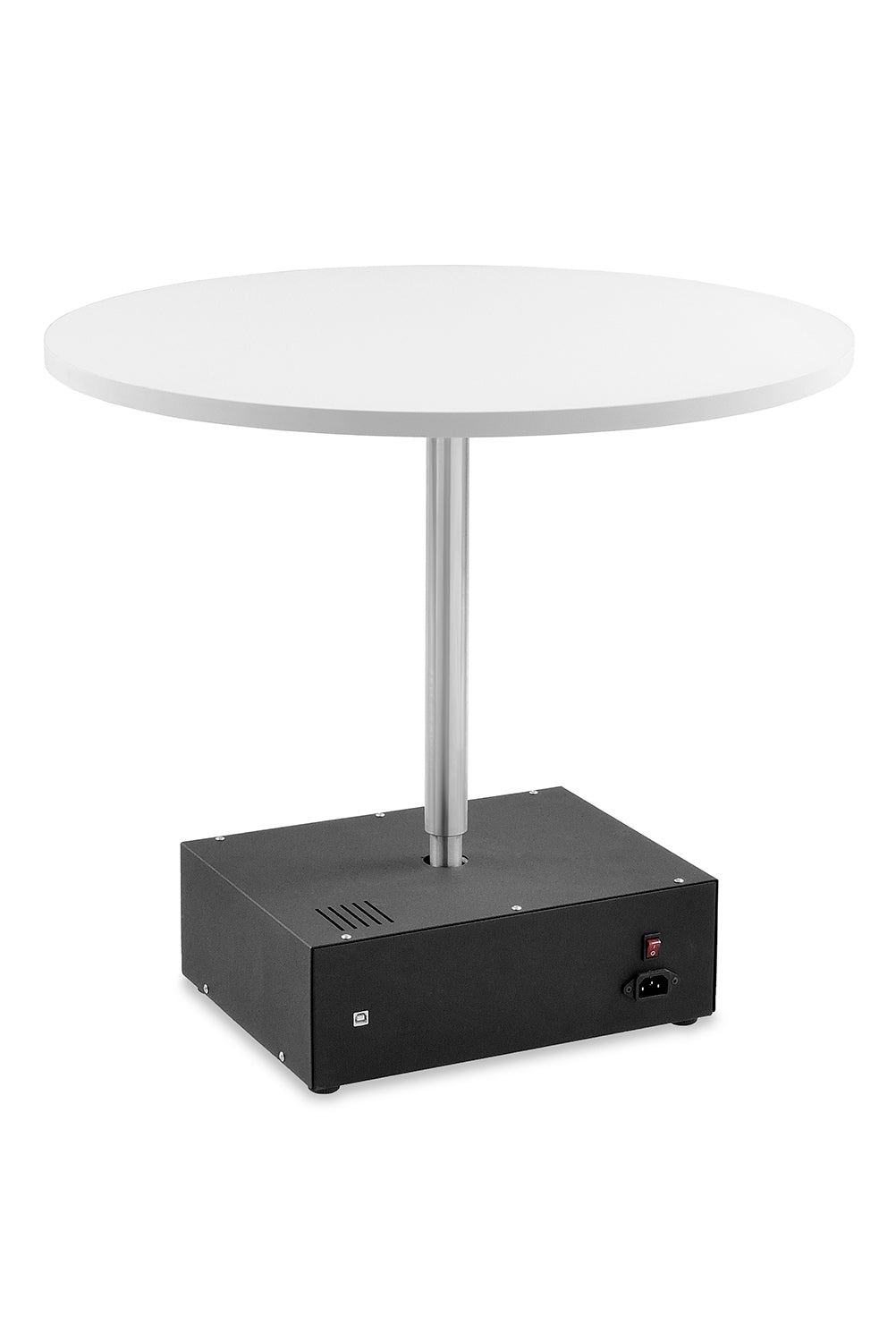 Photomechanics stand column for shooting small products
