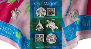 Eden Shell Scarf Magnets