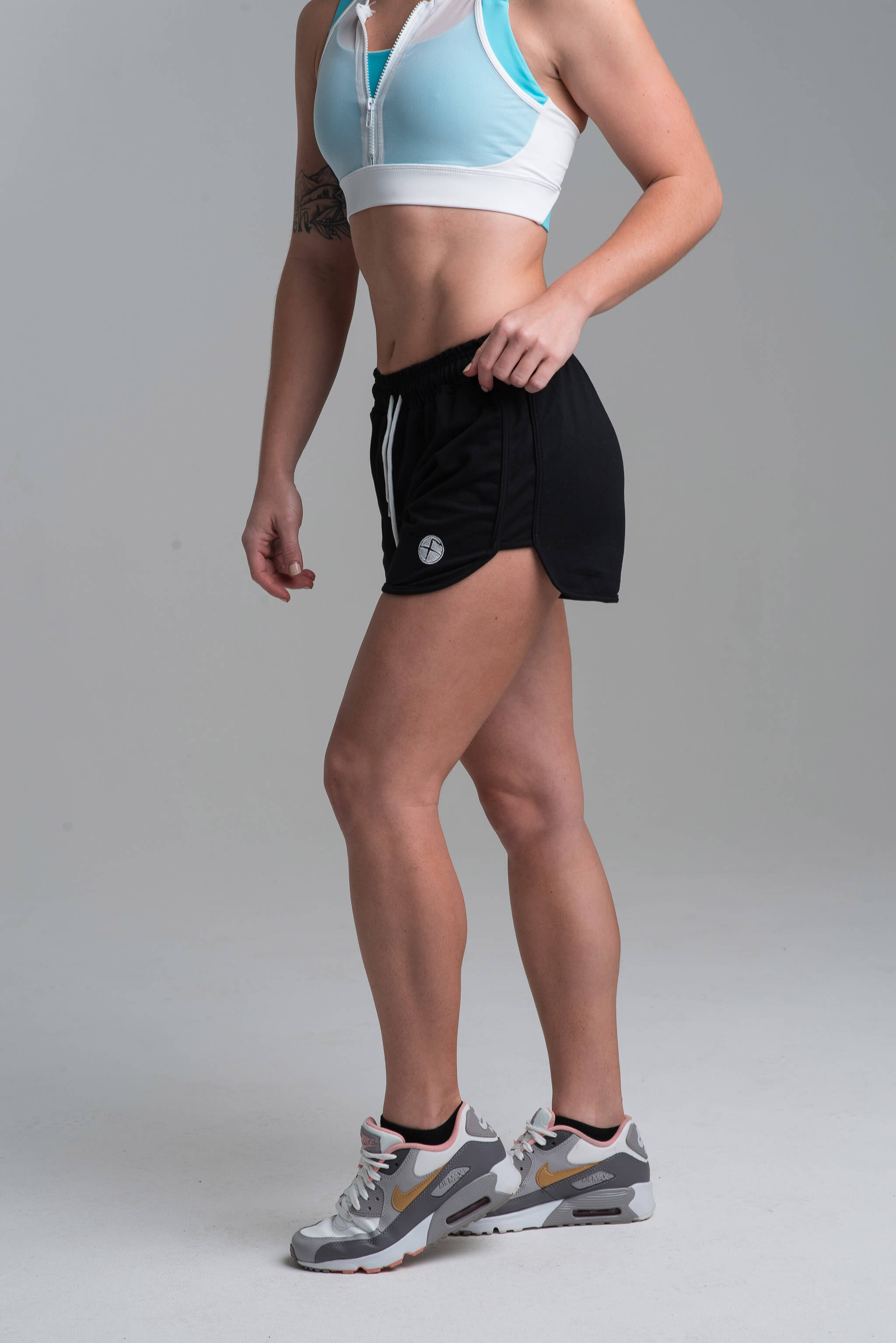 Black Flawnt Clothing Tempo Shorts