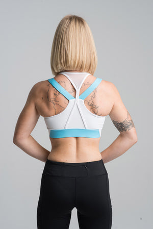 Blue Flawnt Clothing Dynamic Sports Bra