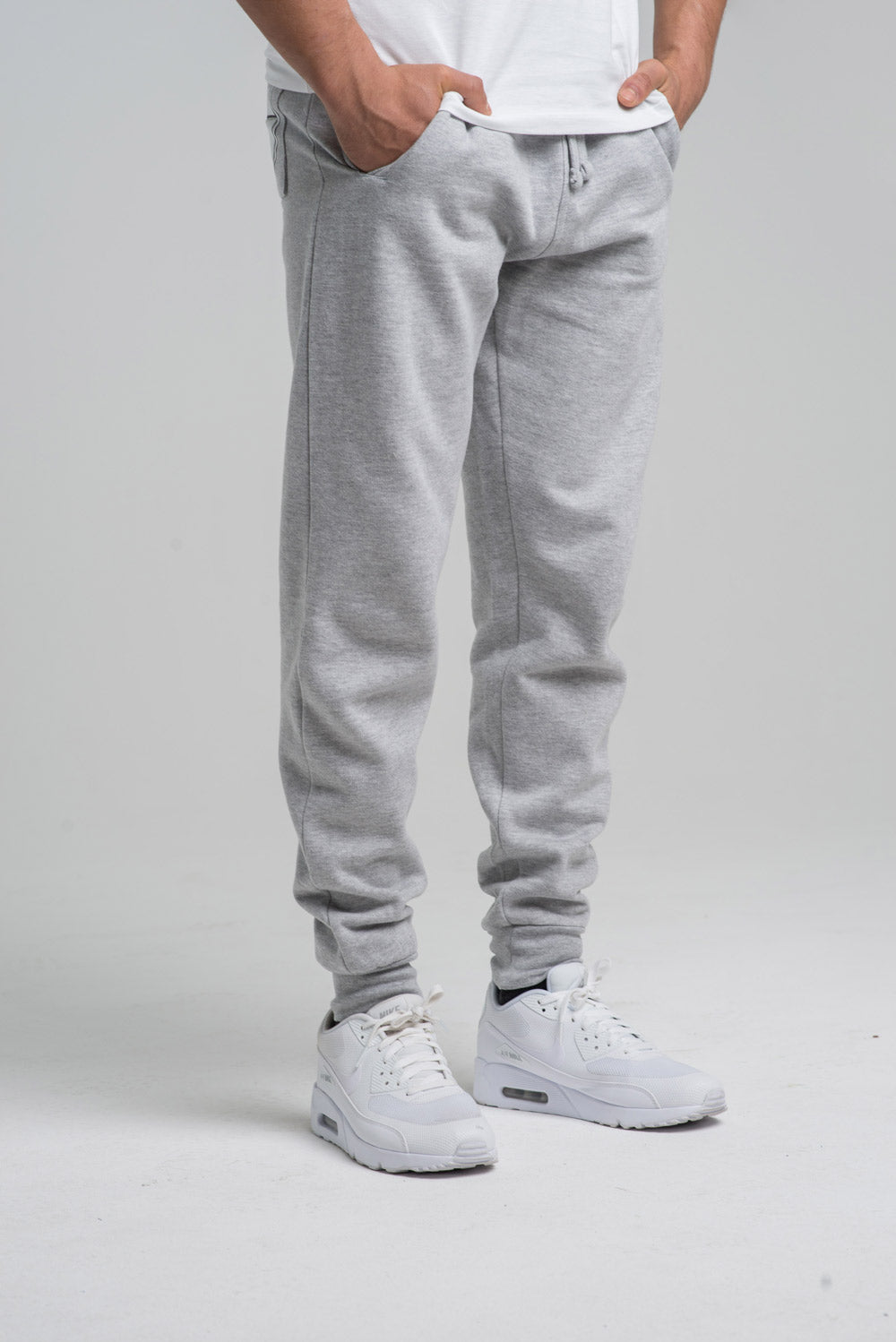 Grey Flawnt Clothing Joggers Track Pants