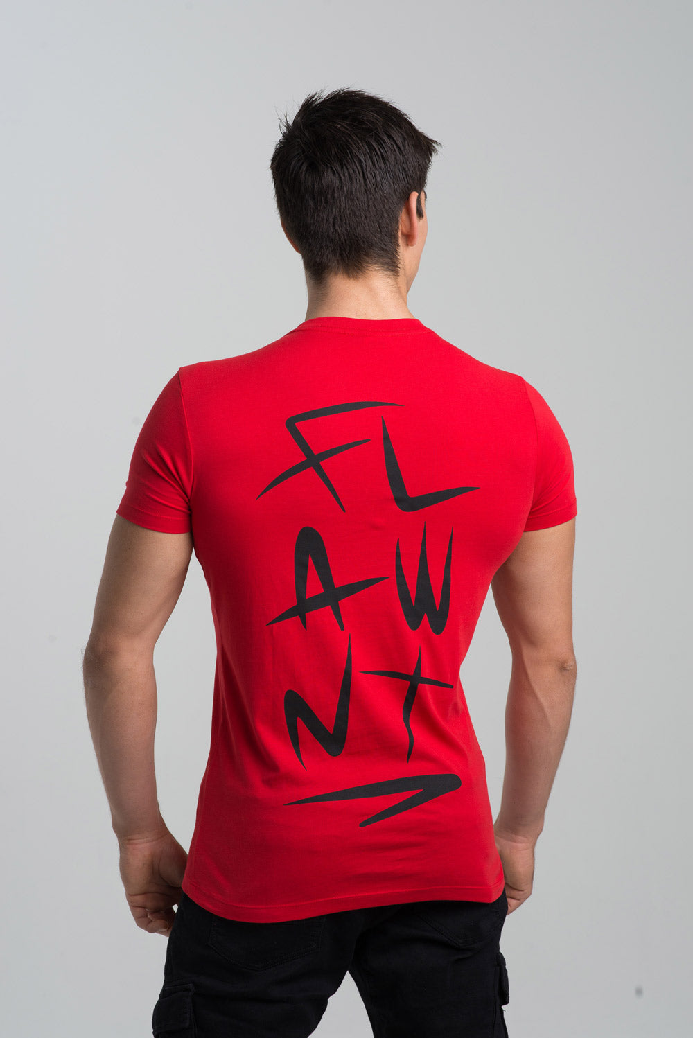 Red Flawnt Clothing Light Weight Tee/T Shirt