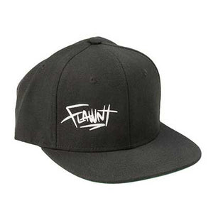 Black Flawnt Clothing Cap