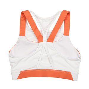 Orange Flawnt Clothing Dynamic Sports Bra