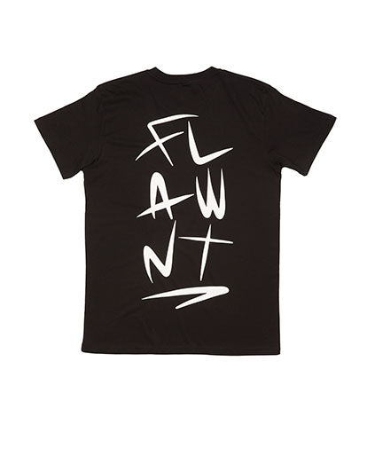 Black Flawnt Clothing Light Weight Tee/T Shirt
