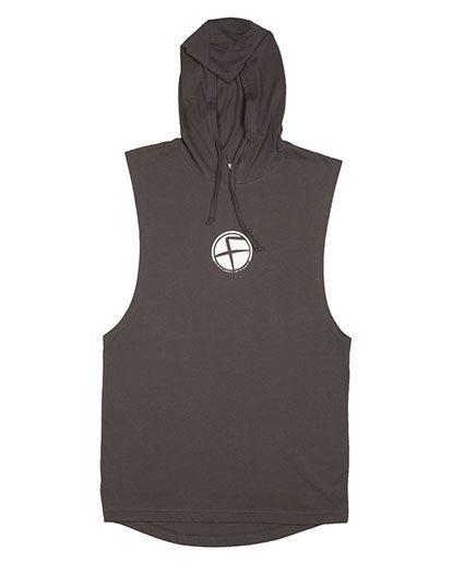 Coal Flawnt Clothing Sleeveless Hoodie