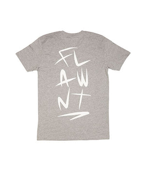 Grey Flawnt Clothing Light Weight Tee/T Shirt