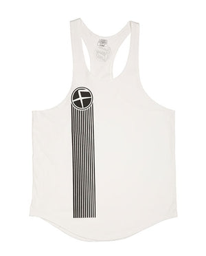 White Flawnt Clothing Singlet