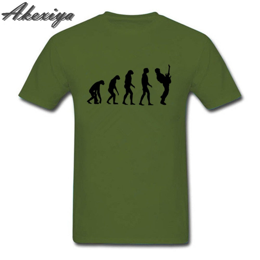 New Evolution Guitar Player T-Shirts