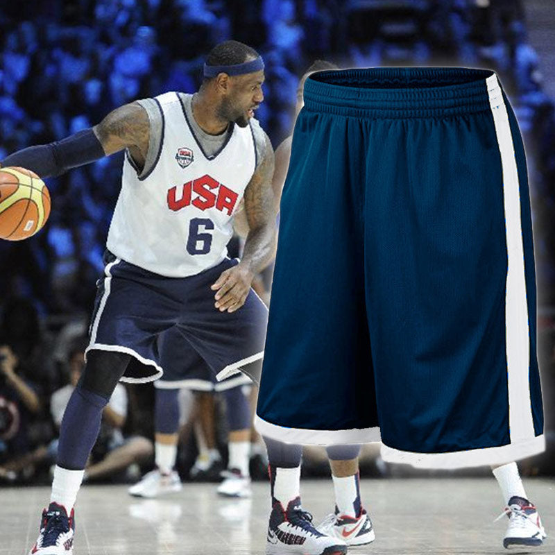 Team USA Basketball Shorts with Pocket