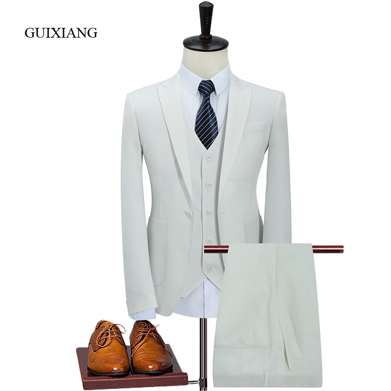 High-End Boutique three pieces Suits