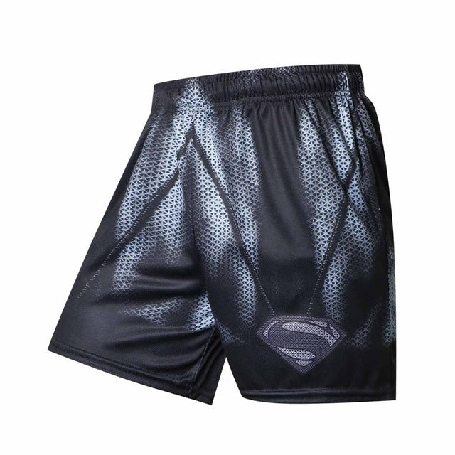 Black superman/batman Shorts
