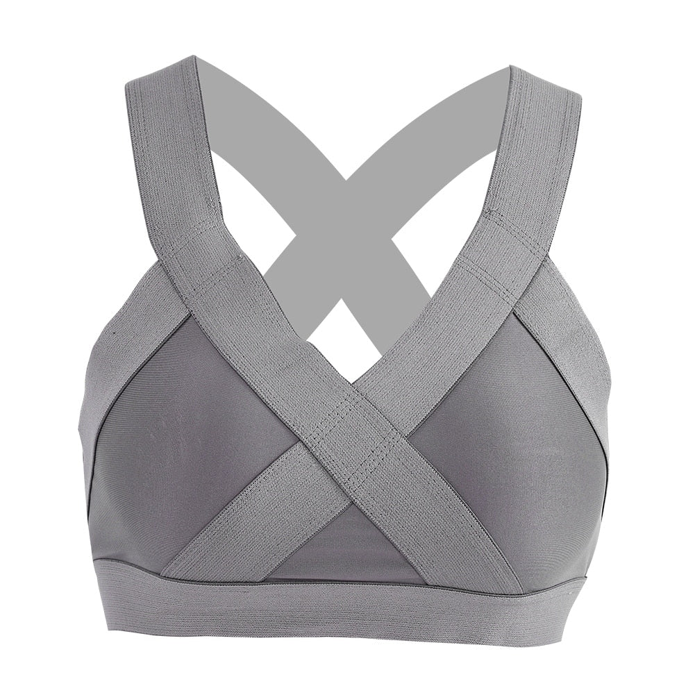 Women Wire Free Gym Bra