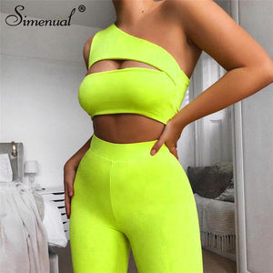 Neon Color Two Piece