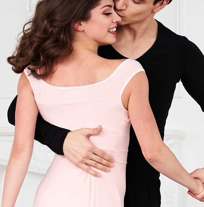 CELADON LUSH is a premium brand of latin and ballroom practice wear designed and manufactured in Toronto, Canada.    Our finely crafted practice dresses, tops and skirts are created with the utmost diligence to quality construction and finishing technique
