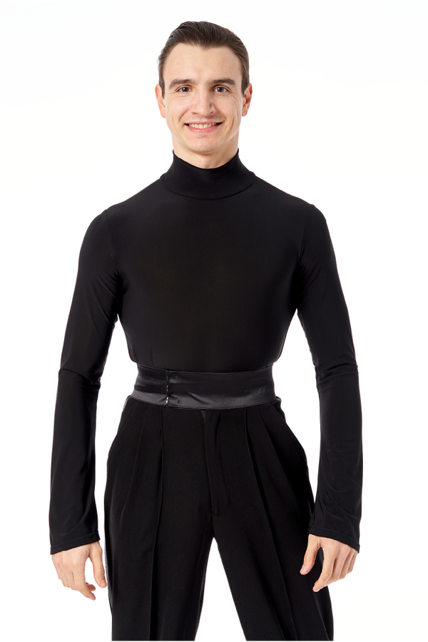 Turtleneck with Flare Sleeve Shirt
