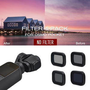 STARTRC ND Filter Set for Osmo Pocket (ND8/16/32/64)