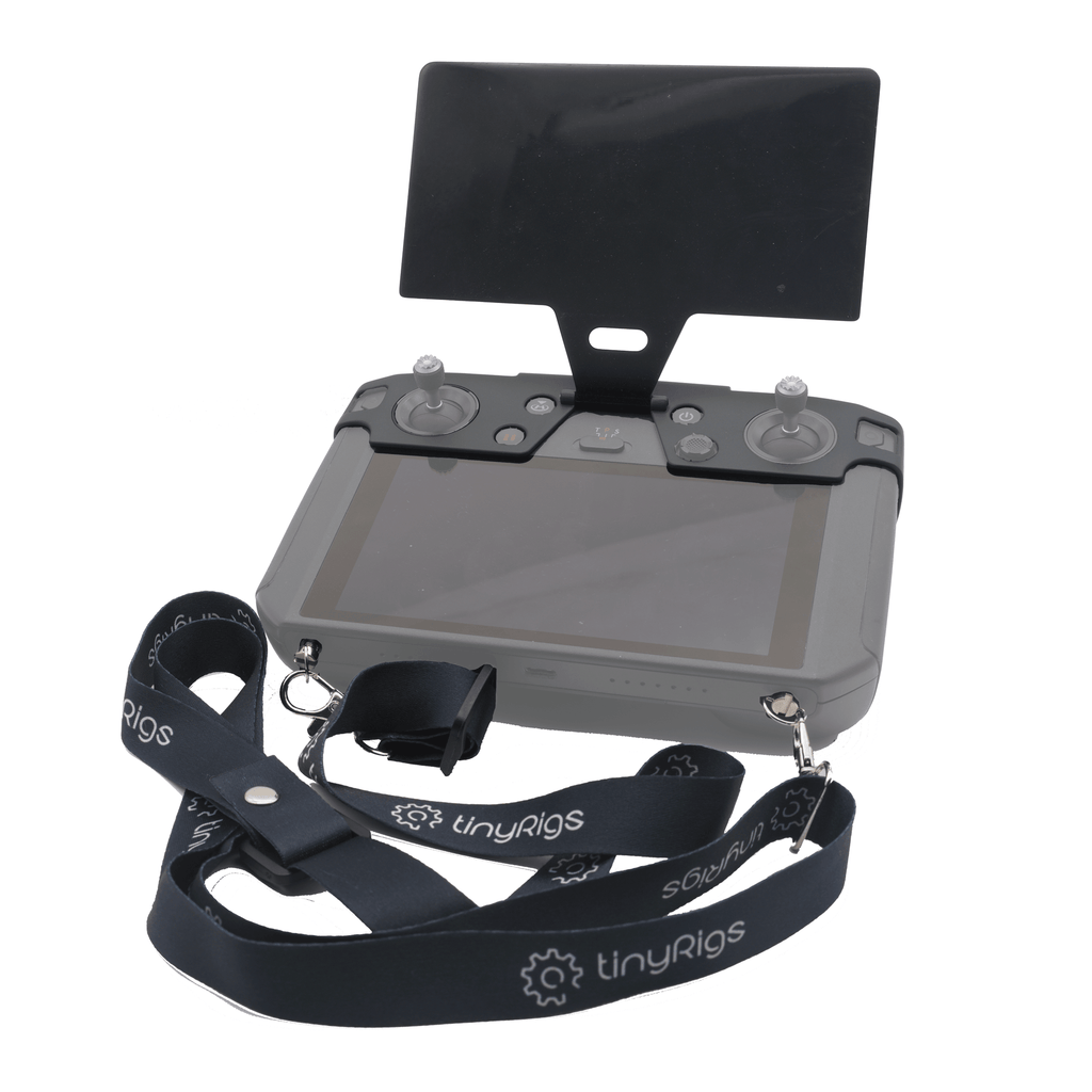 tinyRigs DJI Smart Controller Screen Guard with Neck Strap