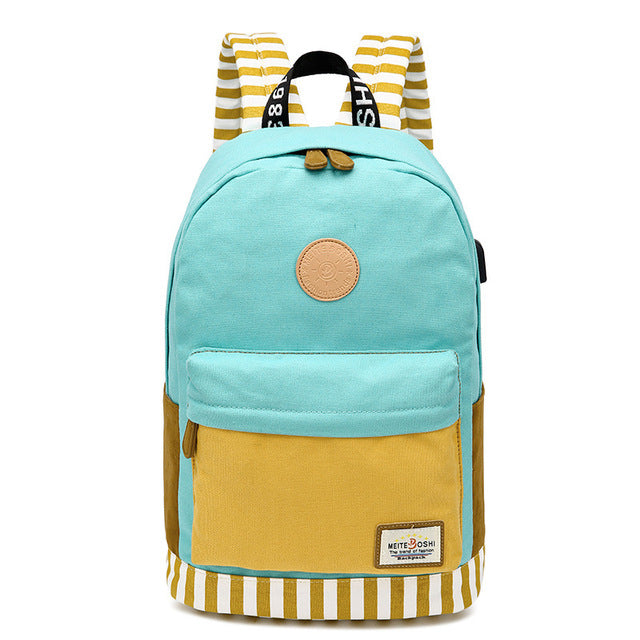 Canvas Backpack for Women