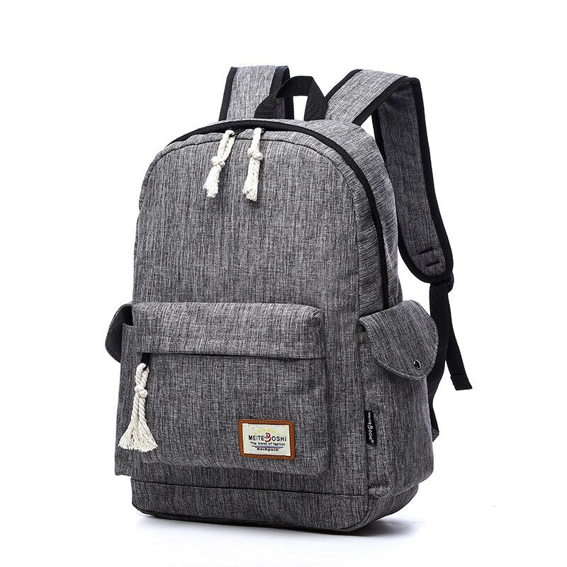 Cloth Laptop Backpack
