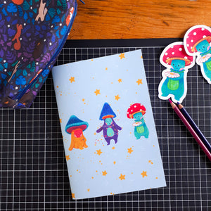 Fungus Friends notebook