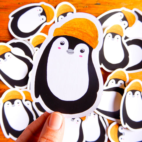 Cute Penguin Die Cut sticker