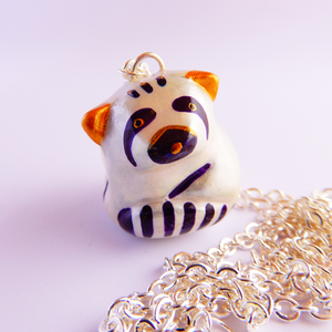 Red panda (little panda) pendant