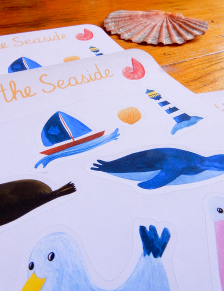 By the Seaside Australian animal sticker sheet