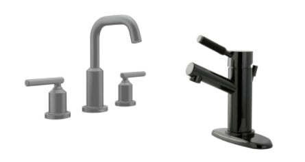 Black Bathroom Fixtures