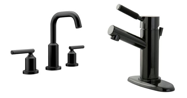 Black Stainless and Matte Black Faucet