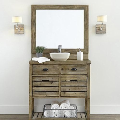 DIY Vanity Mirror Frame Ideas