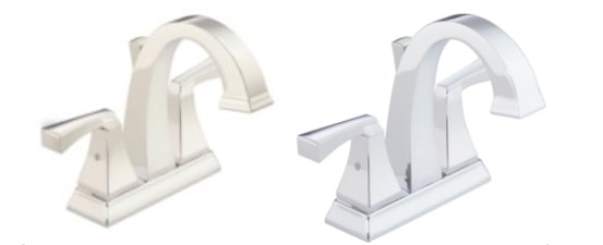 Polished Nickel and Chrome Bathroom Fixtures