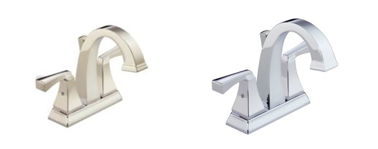 Polished Nickel and Chrome Faucets