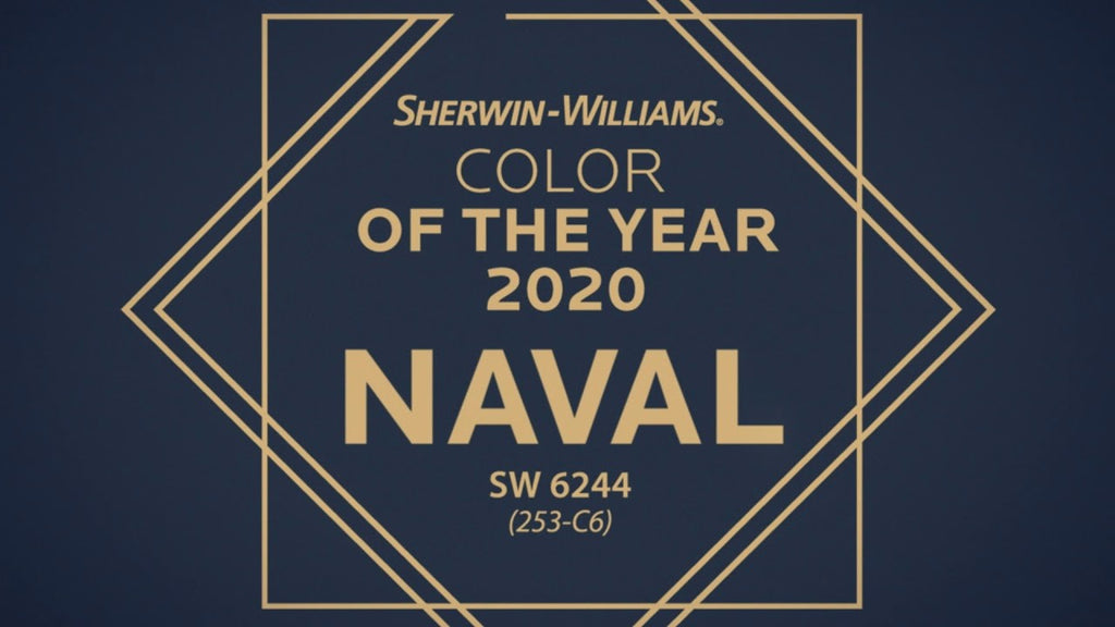 Sherwin Williams Color of the Year 2020 - Naval SW 6244