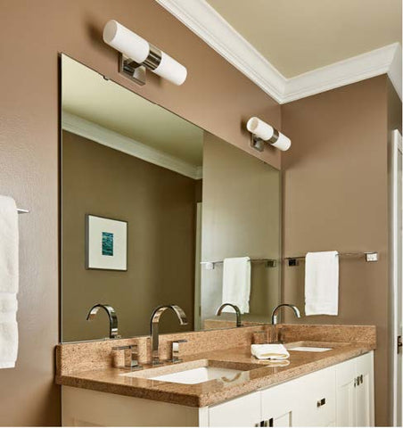 Taupe Painted Bathroom