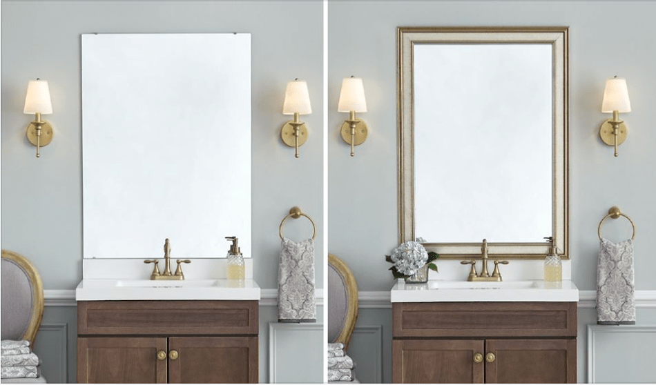 Gold Mirror Frame Collection