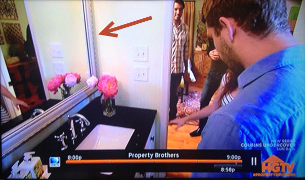 MirrorMate Mirror Molding featured on Property Brothers