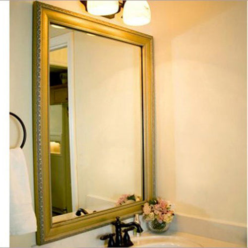 Bellemeade Vintage Champagne Bathroom Mirror Trim