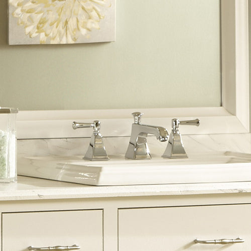 Chelsea Classic White Bathroom Wall Mirror