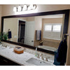 Cherokee Espresso Walnut DIY Bathroom Mirror Frame