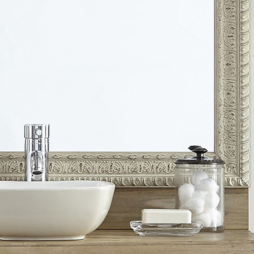 Newport Weathered White Mirror Framing Kits