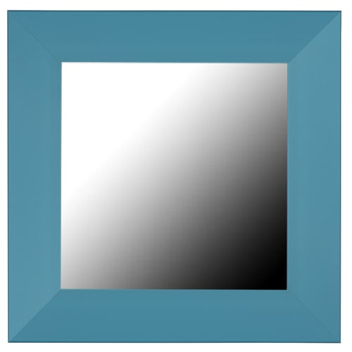 Ocean Aegean Blue Framed Mirror