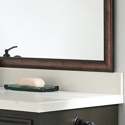 Thin Dark Bronze Wood DIY Mirror Framing Kits