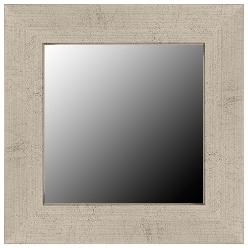Highline Slim Silver Patina Framed Mirror
