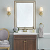 Kelso Gold Washed Silver DIY Mirror Frame Kits
