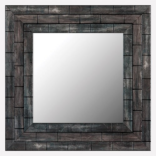Lexington Metallic Ash Framed Mirror