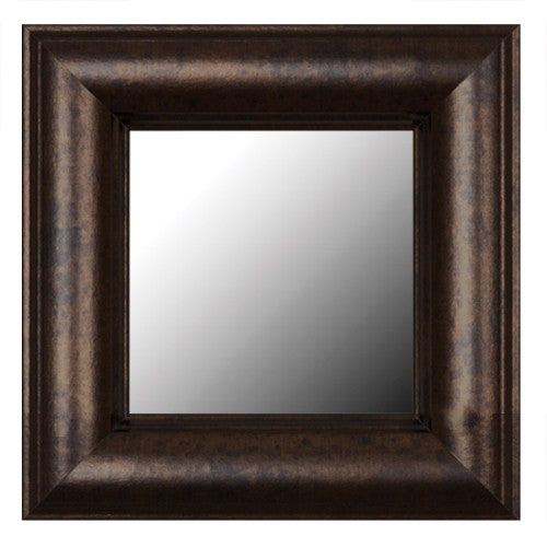 Pemaquid Dark Bronze Framed Mirror