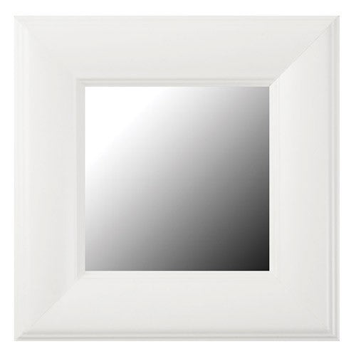 Pemaquid Porcelain White Framed Mirror